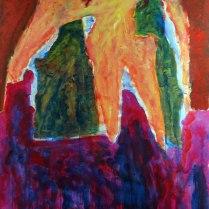 4. Acrylic on canvas - 90cm x 60cm - $400