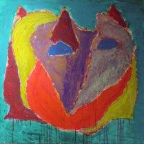 6. Acrylic on canvas - 90cm x 90cm - $500