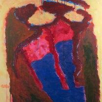 11. Acrylic on canvas - 90cm x 60cm - $300