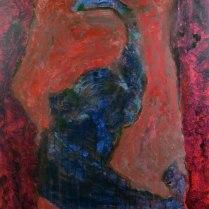 13. Acrylic on canvas - 90cm x 60cm - $350