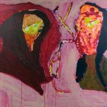 14. Acrylic on canvas - 75cm x 100cm - $400