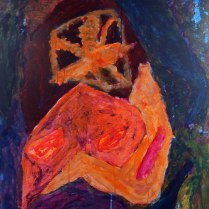 15. Acrylic on canvas - 75cm x 60cm - $400