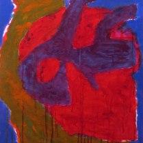 2. Acrylic on canvas - 90cm x 60cm - $450