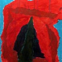 3. Acrylic on canvas - 90cm x 60cm - $450
