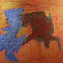 16. Acrylic on canvas - 90cm x 90cm - $500