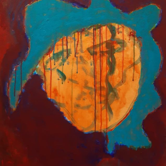 22. Acrylic on canvas