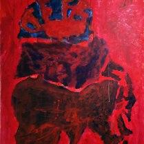21. Acrylic on canvas