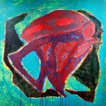 20. Acrylic on canvas
